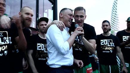 Šarūno Jasikevičiaus ir Pauliaus Jankūno dueto daina gerbėjams