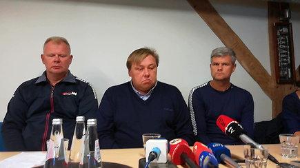 Tragiška regata: organizatoriai surengė spaudos konferenciją