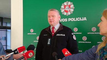 Klaipėdos apskrities VPK viršininkas A.Motuzas apie šiurpų nužudymą Palangoje