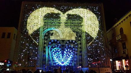 Klaipėdoje prasidėjo jubiliejinis šviesų festivalis