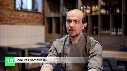Vienas geriausių šalies šefų V.Samavičius: norėjau sukurti tokį restoraną, į kurį važiuotų visa Lietuva