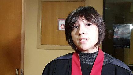 Prokurorė Edita Mikalainienė: moteris kaltę pripažįsta