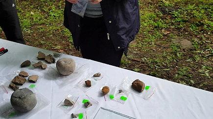 Archeologiniai radiniai Kukuliškių piliakalnyje