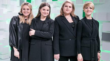 """15min studijoje – merginų grupė """"The Backs"""" gyvai atliks savo """"Eurovizinę"""" dainą"""