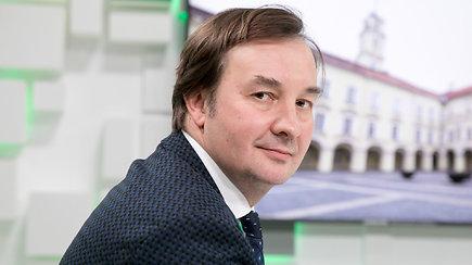 """15min studijoje – naujasis """"Vilniaus universiteto"""" rektorius Rimvydas Petrauskas"""