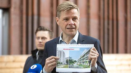 R.Šimašius pristato pokyčių programą Vilniuje – sovietinius rajonus pavers patraukliomis vietomis
