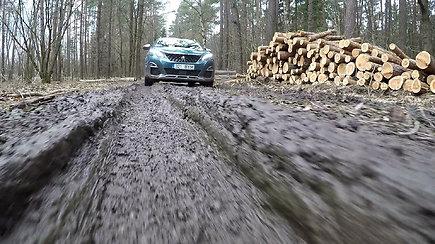 """""""Peugeot"""" pristatė """"Grip control"""" sistemą, padėsiančią sudėtinguose keliuose"""