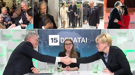 Prisiminkime, kaip atrodė Gitano Nausėdos kelias į Lietuvos prezidento postą
