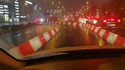 Dėl paviršinių nuotekų tinklų rekonstrukcijos pasikeitė eismo organizavimas T. Narbuto gatvėje