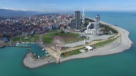 Verta pamatyti: Batumis – nuostabus miestas prie Juodosios jūros