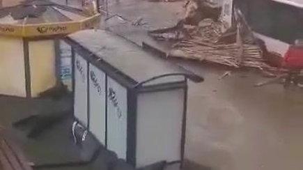 Audros Ukmergėje padariniai