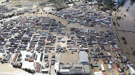 Japonijoje siautėjo galingas taifūnas – gamtos stichija nusinešė mažiausiai 40 gyvybių