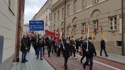 Eitynės prieš Azerbaidžano ir Turkijos terorizmą Vilniuje