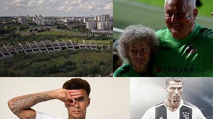 """""""Vieni vartai"""" griuvėsiuose, """"Sūduvos"""" šansai sukurti pasaką, triukas ir C.Ronaldo startas"""