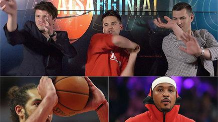 """""""Atsarginiai"""": Justino Jankevičiaus žinia NBA žvaigždei, ginčas su vedėjais, keiksmai ir kreivarankiai"""