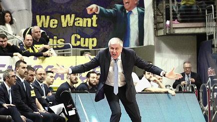 Eurolygos pusfinalis: Željko Obradovičius prieš Erginą Atamaną