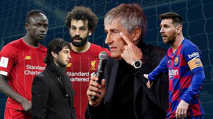 """""""Vieni vartai"""": """"Žalgirio"""" trenerio detektyvas, pokyčiai Barselonoje ir kosmosas Anglijoje"""