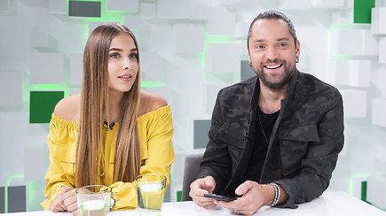 """Atlikėja Paulina ir Leonas Somovas pristatė pirmąją dainą """"Jeigu nori"""""""