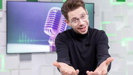 """""""Eurovizijos"""" finalininkas Jurgis Brūzga žada dar vieną staigmeną"""
