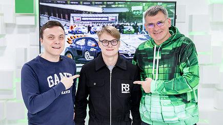 """Laida """"Gazas&Stabdis"""": Rokas Baciuška paskaičiavo, kiek kainuoja dalyvavimas pasaulio ralio kroso čempionate"""