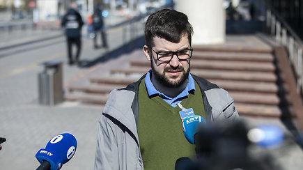 P.Poderskio komentarai iš oro uosto dėl atvykusių izoliacijos