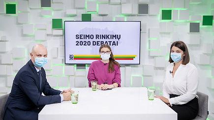 15min Seimo rinkimų debatai: G.Skaistė prieš A.Verygą