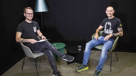 Ultramaratonininkas G.Grinius papasakojo apie Monblano šturmą ir skausmą