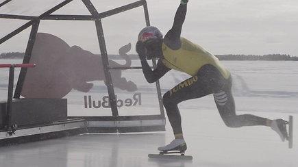 Nepaprastas projektas: kaip olimpinis čempionas tapo greičiausiu žmogumi pasaulyje ant ledo