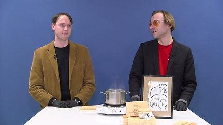 """Knygą puode išvirę menininkai klausia: """"Tai dar yra literatūros kūrinys ar ne?"""""""