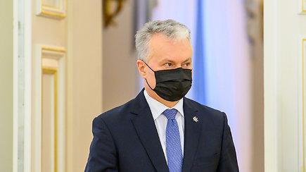 G.Nausėdos komentarai po Europos Vadovų Tarybos posėdžio dėl vakcinavimo spartos užtikrinimo