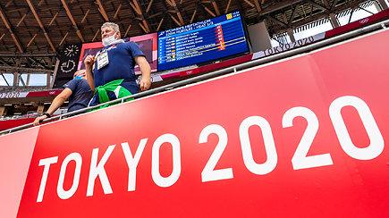 Iš Tokijo. Kodėl Olimpinių žaidynių organizatoriai draudžia filmuoti arenose
