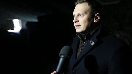 Vicemeras V.Benkunskas komentuoja situaciją dėl galimai neteisėtai sandėliuojamų atliekų Vilniaus rajone