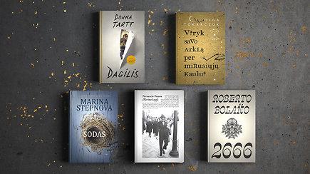 15min metų knygų rinkimai: skaitytojų atrinktos užsienio autorių grožinės knygos