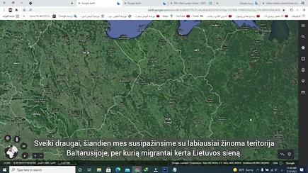 Irakietis pasakoja apie Lietuvos sienos kirtimą Baltarusijoje