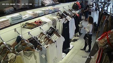 Vaizdo kameros pričiupo vagilę: atpažinusiems žadamas lagaminas dovanų