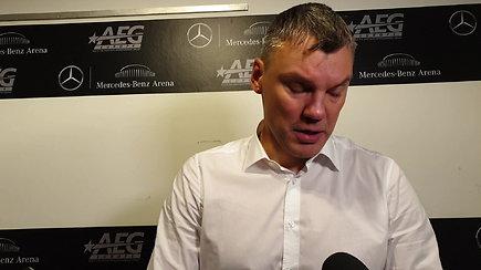 """Š.Jasikevičius kritikavo ir save, ir žaidėjus: """"Nesąmonė. Taip negali būti"""""""