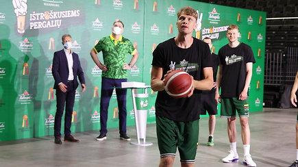 """Nr. 1 Lietuvoje """"Kalnapilio nealkoholinis"""" pradeda krepšinio žygį po Lietuvą – iššūkį jau išbandė Lietuvos krepšinio rinktinė"""
