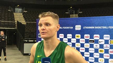 Renaldo Seibučio komentaras prieš mačą su Suomija