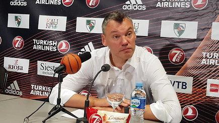 """Šarūnas Jasikevičius po pralaimėjimo: """"Truputį pametėm galvas"""""""