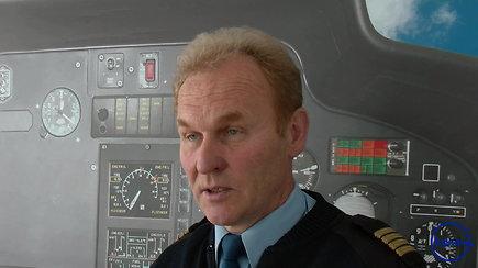 """""""Kylam"""": kaip pilotuojami sraigtasparniai?"""