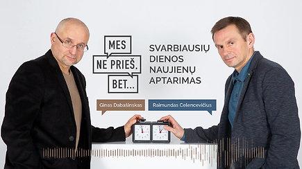 """""""Mes ne prieš, bet..."""": S.Skvernelio triumfas, kam A.Juozaičiui reikia vaikų, V.Putino ir R.Pakso mįslė"""