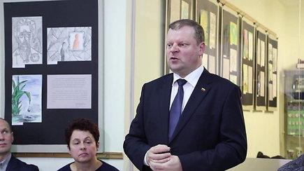 Saulius Skvernelis paskelbė dalyvausiantis prezidento rinkimuose