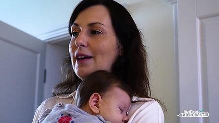 Šešių vaikų mamai šeima netrukdo siekti svajonių