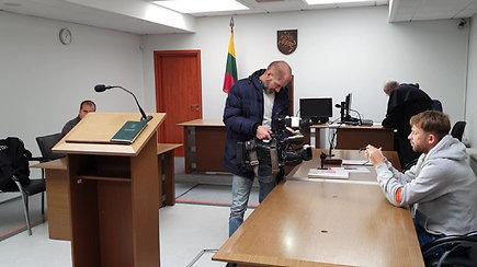 Egidijus Dragūnas atvyko į teismo posėdį