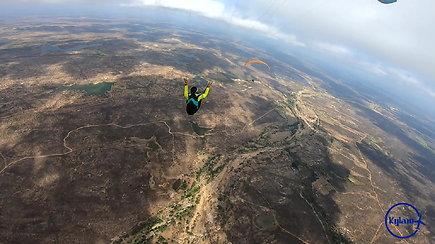 """""""Kylam"""": Brazilijoje – nauji parasparnių skrydžių rekordai"""