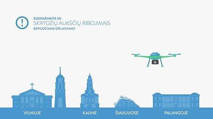 Bepiločių orlaivių naudojimo taisyklės Lietuvoje