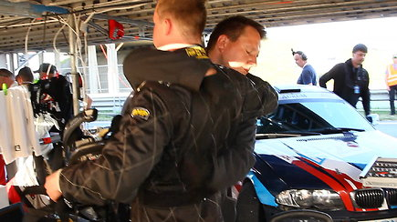 Igno Palaimos komentaras apie BMW gedimą