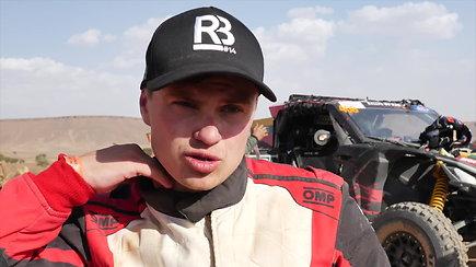Maroke Rokas Baciuška laimėjo greičio ruožą savo klasėje