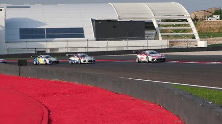 """Penktasis """"Porsche Carrera Cup Italia"""" etapas"""