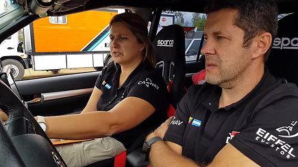 Marcelo Rolando ir Jūratė Rolando bekelės varžybose